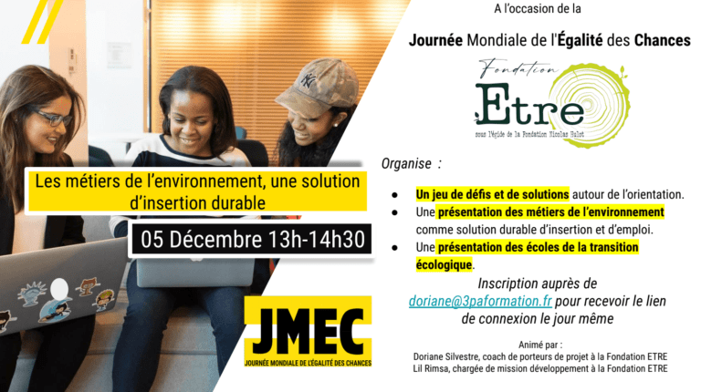 5 décembre | 11h-12h30 | En ligne (France) | Public