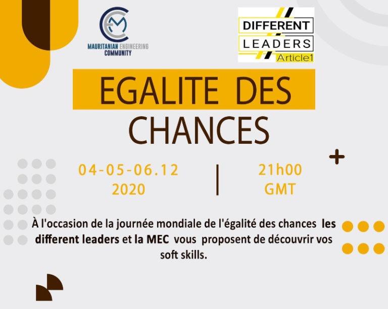 5 et 6 décembre | 21h-22h | En ligne (Nouakchott) | Public